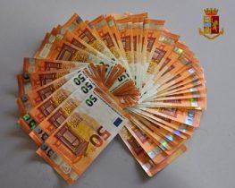 ADRANO: TROVATO CAMINANTE CON 2400 EURO FALSI