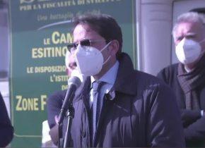 MALETTO: IL VICESINDACO ALLA PROTESTA PER LE ZONE FRANCHE MONTANE