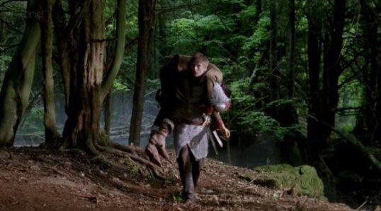 MC - Arthur rescuing Merlin
