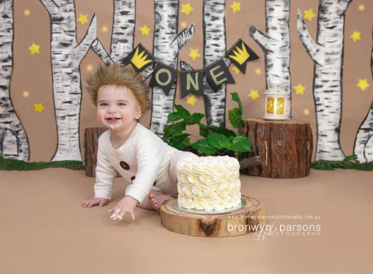 cake smash photoshoot canberra