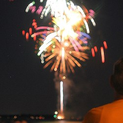 Fireworks at Orchard Beach 2011