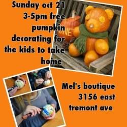 Free Pumpkin Decorating!