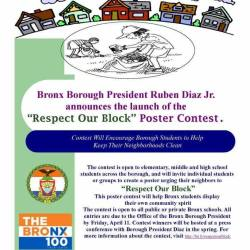 Respect Our Block Poster Contest