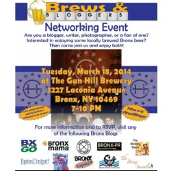 Brews and Bloggers Networking Event