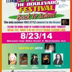 Shop The Boulevard Festival-Back to School