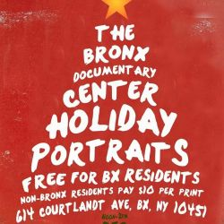 Holiday Portraits at the Bronx Documentary Center