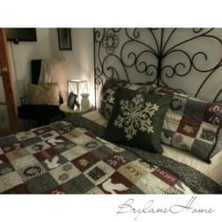 Holiday Bedroom Decor: BrylaneHome