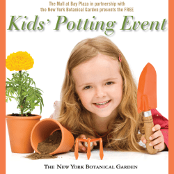 Kid's Potting Event at the Mall at Bay Plaza