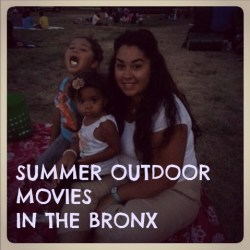 Summer Outdoor Movies in the Bronx