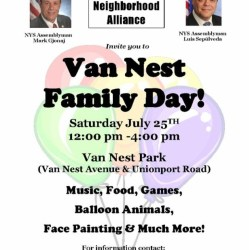 Van Nest Family Day