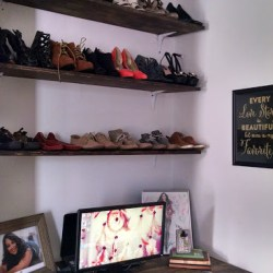 DIY Corner: Shoe Shelves
