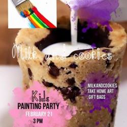 Milk & Cookies Painting Party