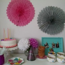 Sweet and Simple Sleepover Cake Table & Ice Cream Bar