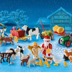 Countdown to Christmas with PLAYMOBIL's Christmas on the Farm Advent Calendar