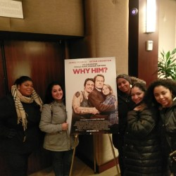 The MOMS Host Advanced Screening of Why Him?