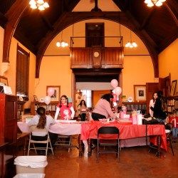 Recap- Be Mine: Bronxmama Valentine Meetup at the Huntington Free Library