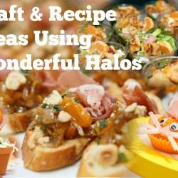 Craft and Recipe Ideas Using Wonderful Halos Mandarins