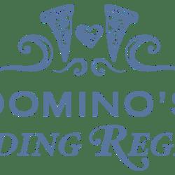 Dominos: Wedding Registries & Ordering on Messenger