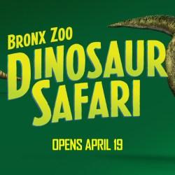Dinosaur Safari is Making a (pre)Historic Return to the Bronx Zoo!
