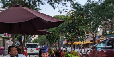 """Piazza di Belmont"" on Arthur Ave Brings Al Fresco Dining to Weekends in the Bronx"