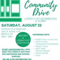 Free Book Drive in the Bronx
