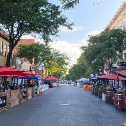 """Arthur Avenue Brings Back """"Piazza di Belmont"""" to Bronx Little Italy for Weekend Evening Al Fresco Dining"""