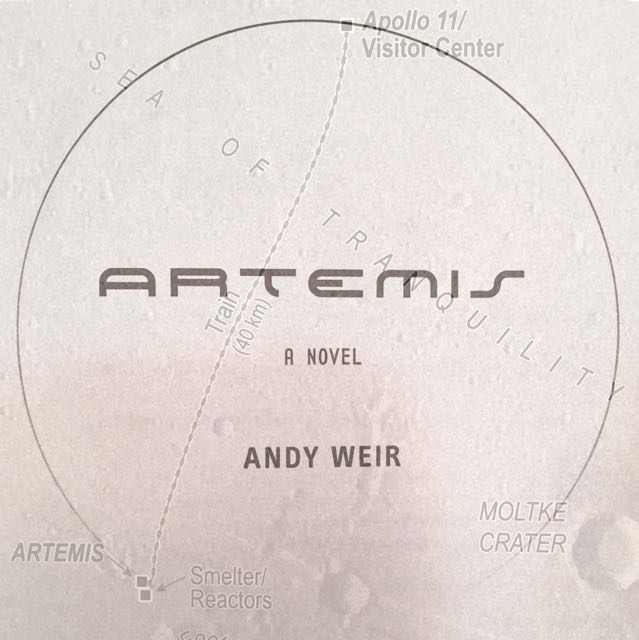 Book Review: Artemis by Andy Weir (2017)