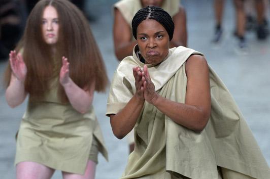 Rick Owens Paris Fashion Week2