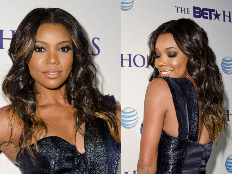Gabrielle Union Smokey Eye