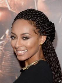 Keri Hilson box braids