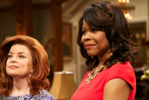 Angela Robinson w Renee Lawless (Set of The Haves and The Have Nots) PIC (2)
