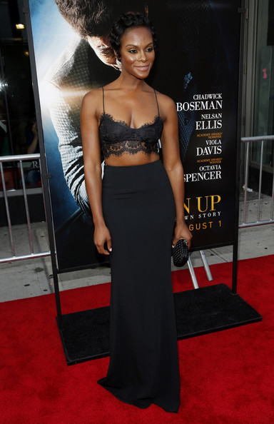 Tika Sumpter at the GetUpNewYorkPremiere