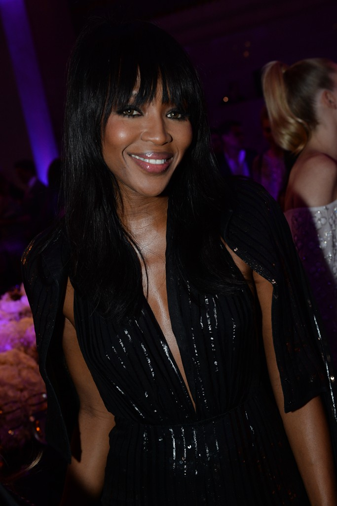 Naomi Campbell at Topshop Bash in NYC