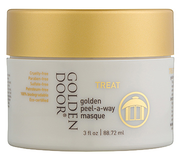 Golden Door golden peel-a-way masque