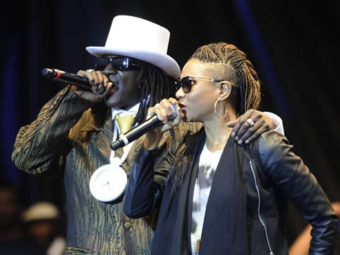 Flava Flav and MCLyte