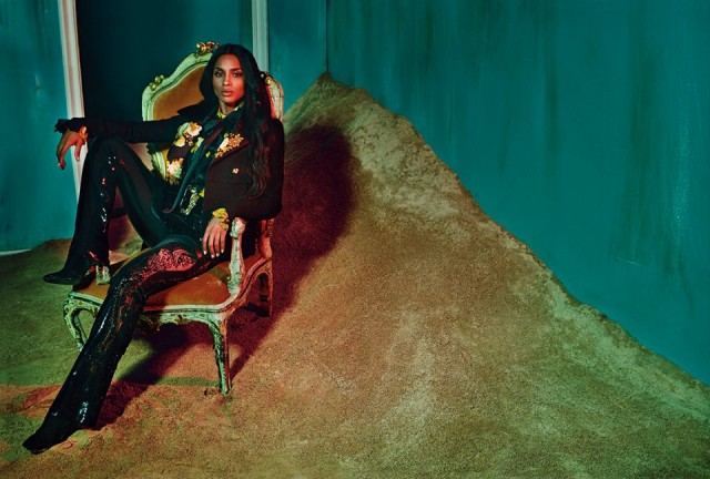 Ciara for Roberto Cavali Fall-Winter 2015d
