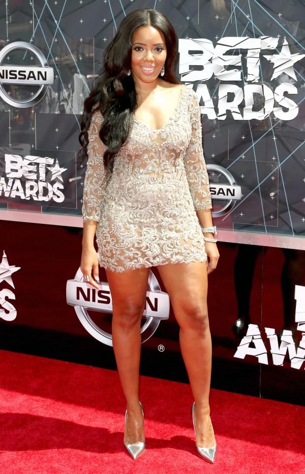Angela Simmons- BET Music Awards 2015