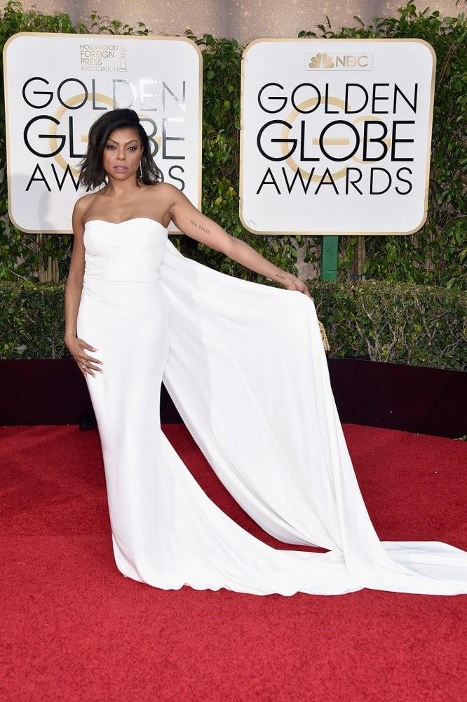 Taraji P Henson- Golden Globes 2016