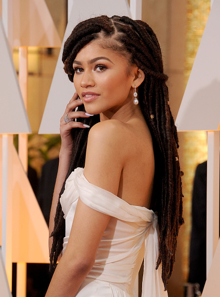 arrives at the 87th Annual Academy Awards at Hollywood & Highland Center on February 22, 2015 in Hollywood, California.