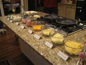 omelet-station