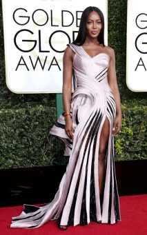 Naomi Campbell Golden Globes 2017