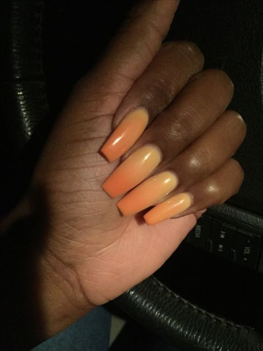 Sunset Ombre Nails2