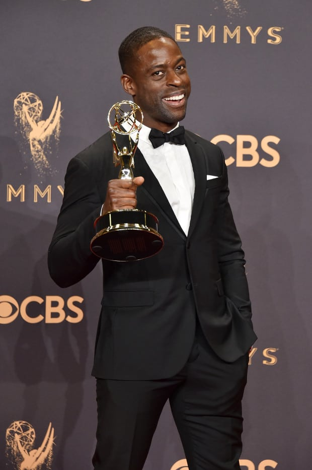 Sterling K. Brown- 2017 Emmy Awards (Photo by Alberto E. Rodriguez/Getty Images)