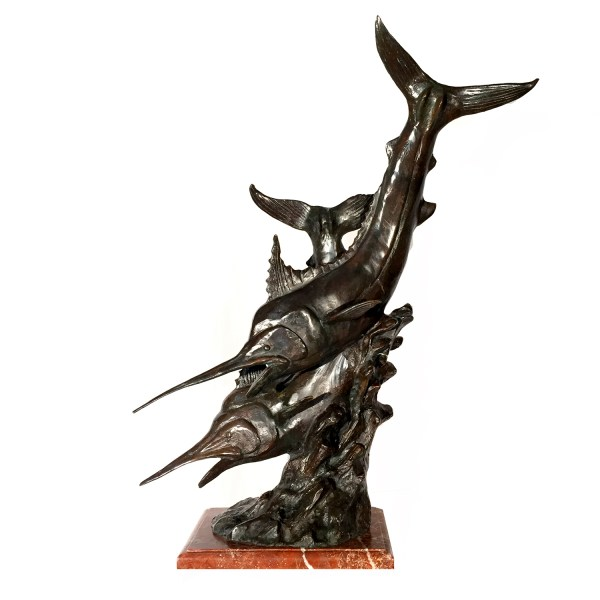 Sailfish Bronze Sculpture