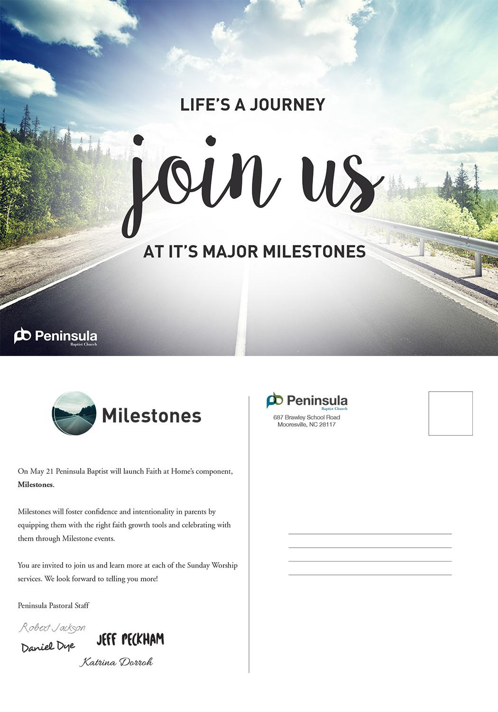 Milestone Postcard | Design Gallery