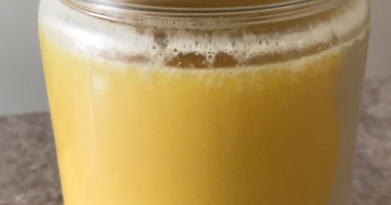 Making your own Ghee, and why FAT is great for you!