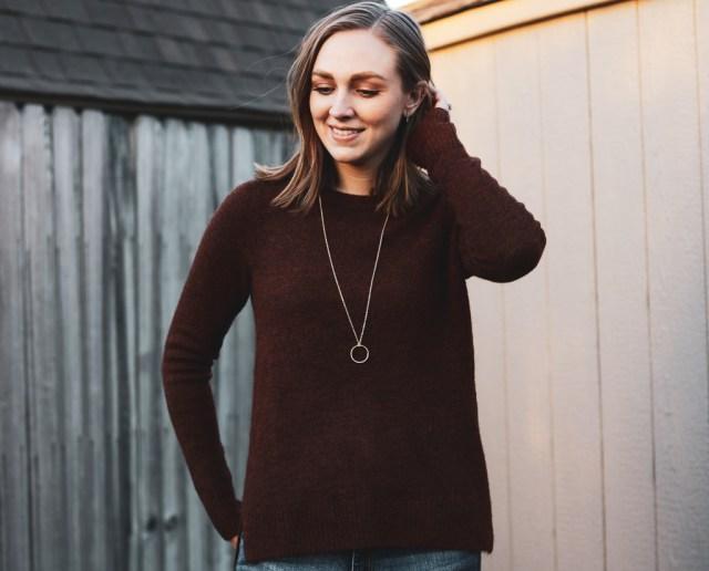 Target Find Friday- $15 Long Gold Necklace - Brooke's Budget