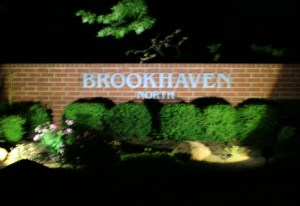 Brookhaven Entrance Lighting