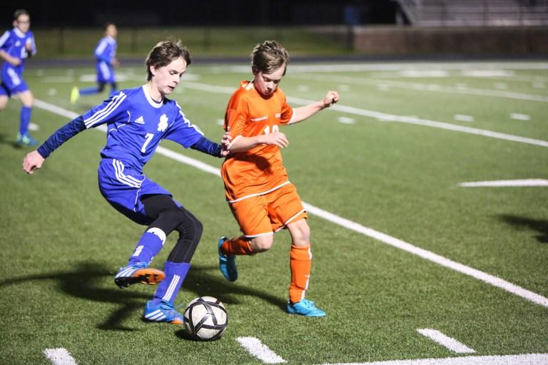 Middle School Soccer  Brook Hill School  Tyler TX