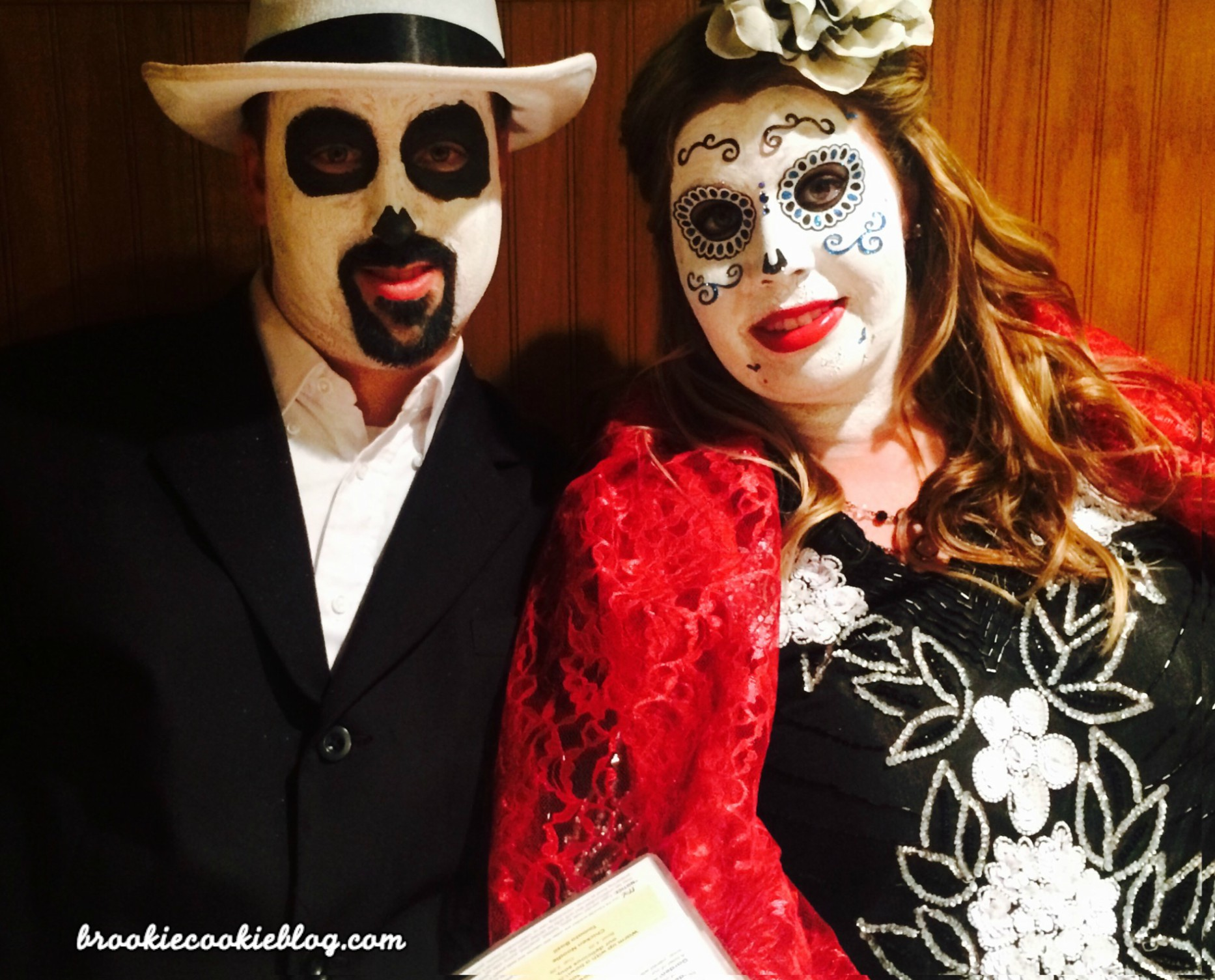 create a day of the dead halloween costume| 5 diy steps - brookie